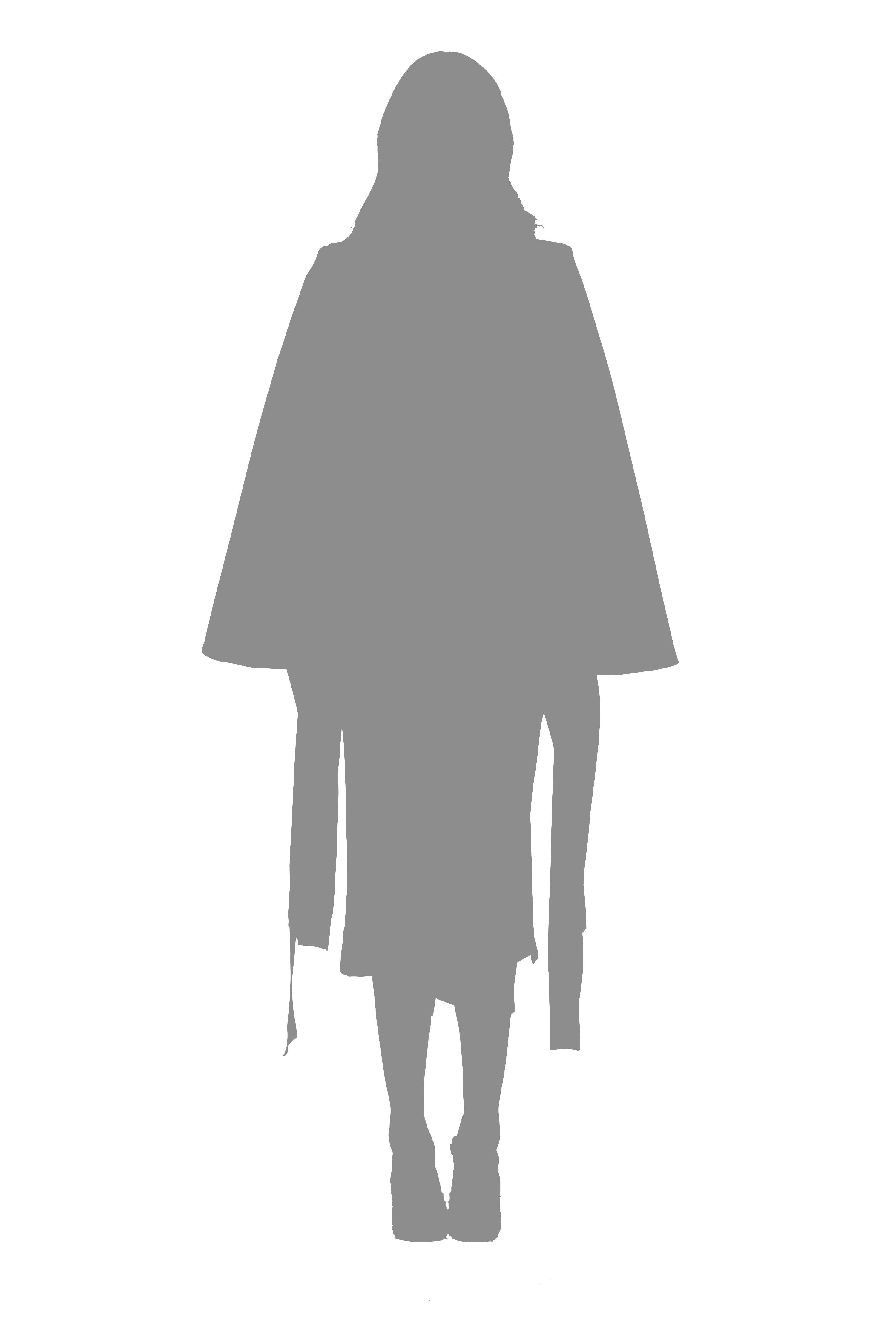 Arachnid Longline Skirt