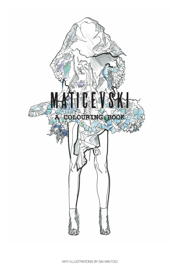 Maticevski: A Colouring Book
