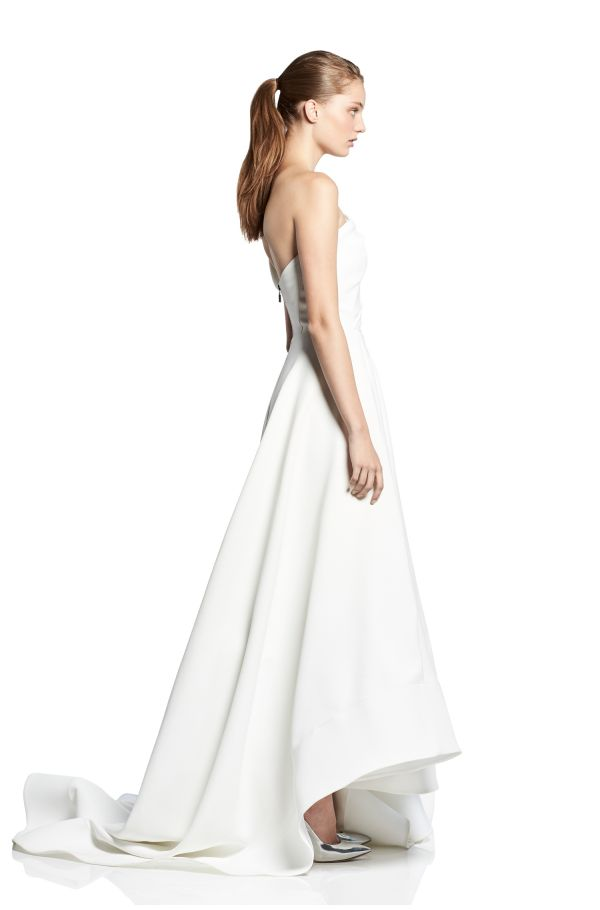 Forever One Shoulder Gown