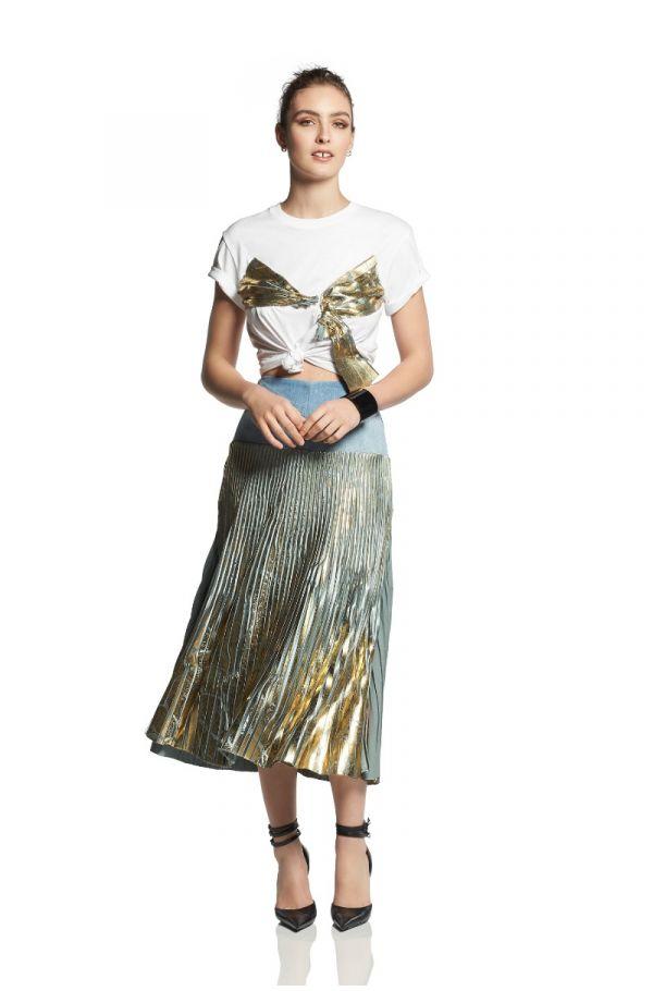 Harmonious Pleat Skirt