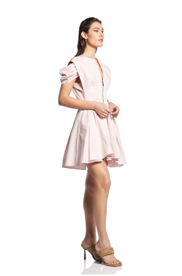 Oblique Mini Dress