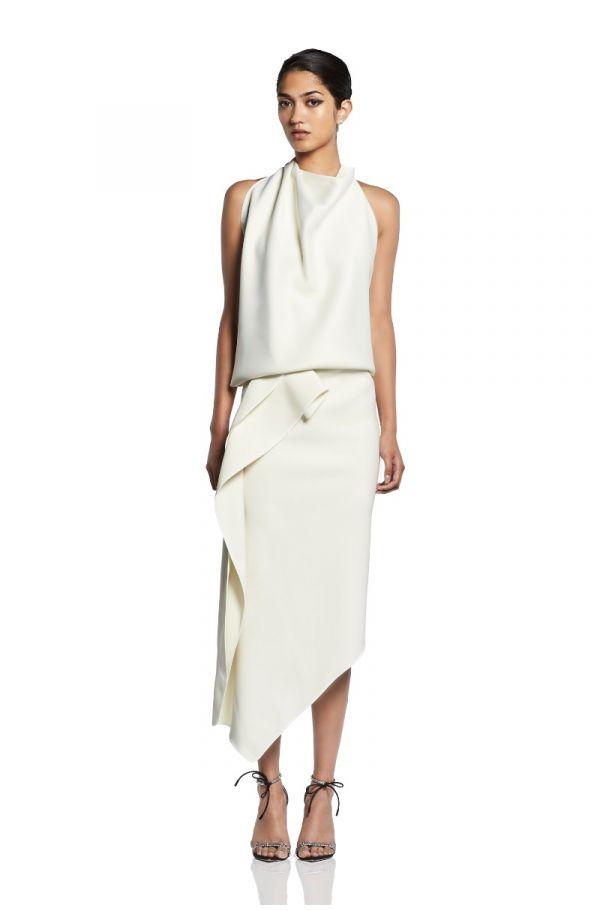 Undertaken Wrap Skirt