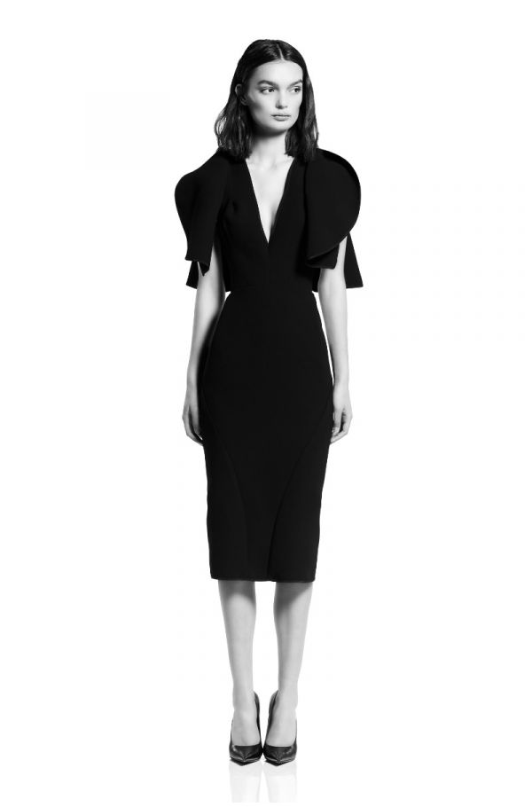 Vowed Plunge Dress